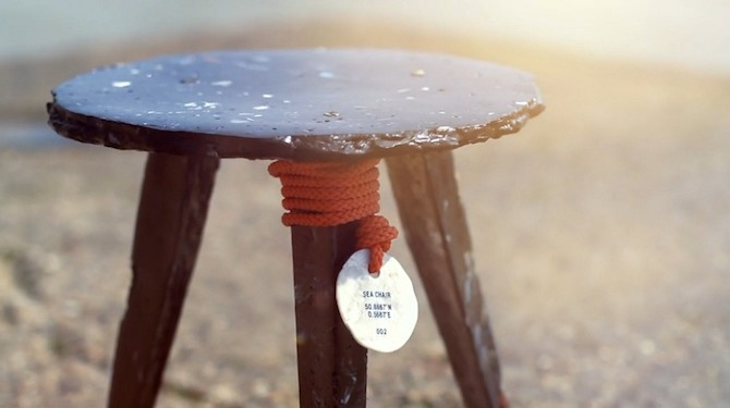 Sea Chairs, We can transform the negative into positive / Ocean Great Ideas