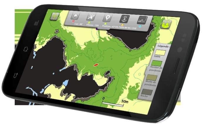 Donia, a free smartphone app for eco-friendly moorings / Ocean Great Ideas