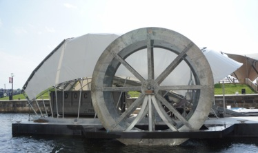 The Inner Harbor Water Wheel Harnessing the power of current and sun to help keep the Baltimore Harbor clean / Ocean Great Ideas