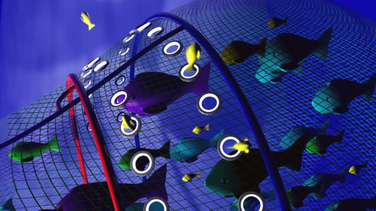 ... reformatted LED lights to guide turtles away from fishing nets / Ocean Great Ideas
