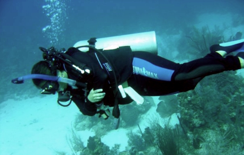 Scuba diving to the depths of my spirit / Ocean Great Ideas